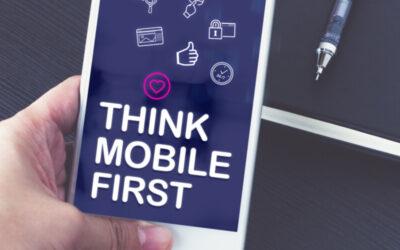mobile first: Mobile Internetnutzung nimmt zu und erfordert Maßnahmen