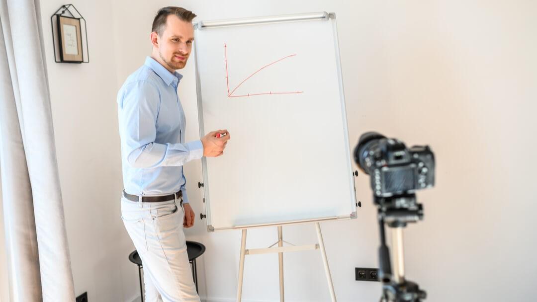 Online Präsentationen halten - Die Technik sollte stimmen - Moderator - Kamera