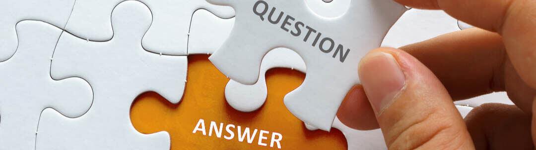 Verkaufsgespräch vor- und nachbereiten für ein optimales Ergebnis - Puzzle mit Fragen und Antworten